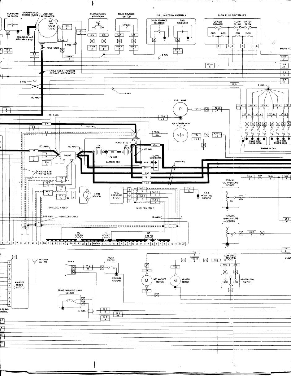 Knowledge Base Electrical High Amp Alternator Wiring Diagram Page 1 2