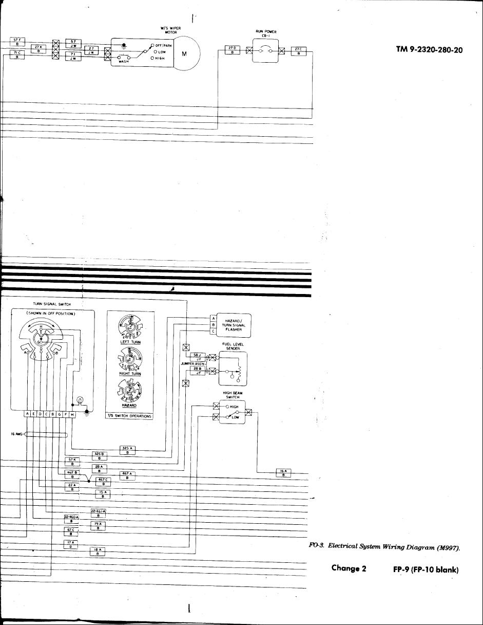 m998 wiring diagram   19 wiring diagram images